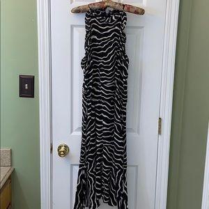 Women's Who What Wear Zebra Print Dress
